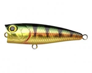 LUCKY CRAFT Bevy Popper 50 | 884 Aurora Gold Northern Perch