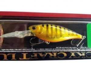 LUCKY CRAFT US Shad 65 | 242 Black & Gold