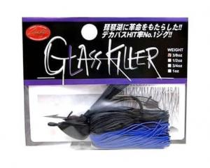 LUCKY CRAFT Glass Killer Jig - 3/8oz | Black Blue