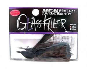LUCKY CRAFT Glass Killer Jig - 3/8oz | Black Brown