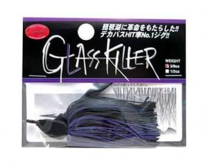 LUCKY CRAFT Glass Killer Jig - 3/8oz | Black Purple