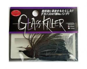 LUCKY CRAFT Glass Killer Jig - 3/8oz | Black